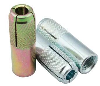 Steeleliku i galvanizuar i galvanizuar i thurrur në spirancë M6 deri në M20