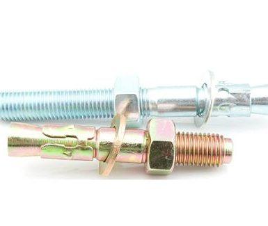 Ankorat e çelësave të çelikut të galvanizuar nga M6 deri M20